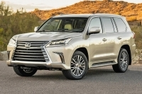 The 2018 Lexus LX 570 Is a Full-Size SUV Grafted From a Toyota Land Cruiser.