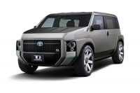 The Toyota Tj Cruiser Concept Blends Vans And SUVs in an Interesting Way